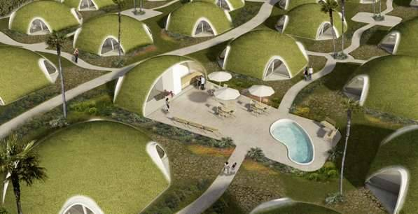 The future might look like this - Hobbiton Revisited?